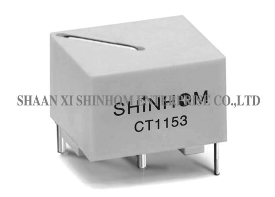 China White Current Sense Transformer Up To 25A Input Stable Epoxy Encapsulation supplier