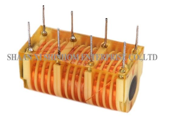 China Customized High Voltage Ignition Transformer , 15kV Ignition Transformer For Gas Burner supplier