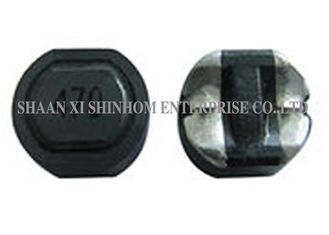 China Magnetic SMD Shielded Power Inductor Ferrite Case Low DCR Small Foot Pint supplier