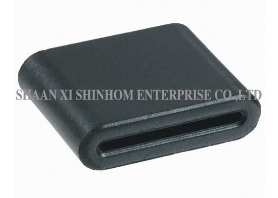 China Flat Ferrite EMI Filter Bead Large Size Soft Magnetism Ragged Construction supplier