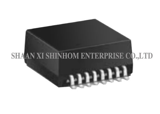 China Surface Mount Ethernet Magnetic Transformer 350 uH OCL With 8mA Bias supplier