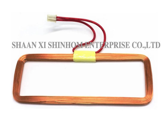 China 125KHZ RFID Antenna Air Core Coil , Coreless / Bobbinless Coil Copper Winding Inductor supplier