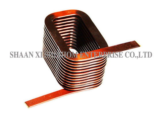 China High Reliability RFID Coil Antenna , Flat Copper Wire Coil Stable Performance supplier