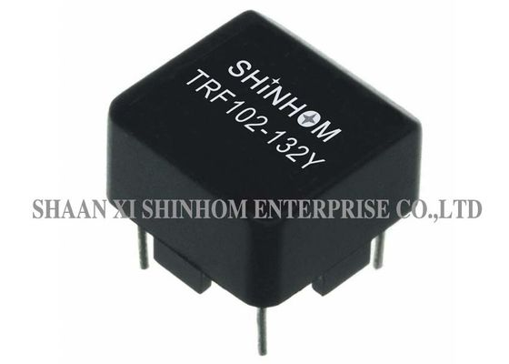 Small Profile Ferrite Core Choke Black Color With Plastic Case Protection