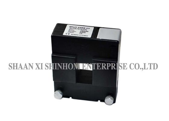 Electrical Split Core Type Current Transformer High Frequency Self Locking