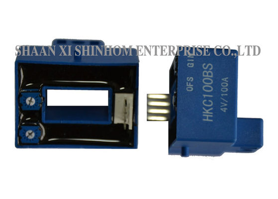 Open Loop Hall Effect Current Sensor , AC DC Current Transducer Good Linearity