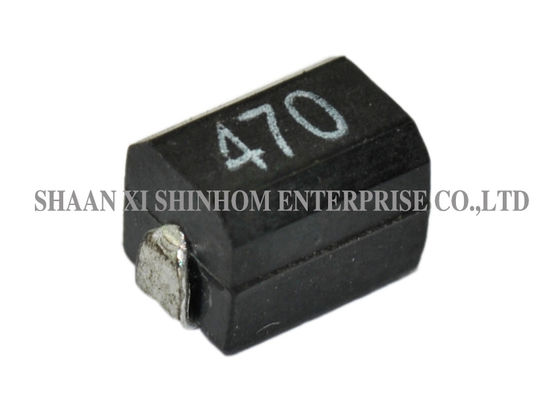 Low Profile Ferrite Bead Inductor Molded construction Excellent Mechanical Strength