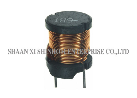 Vertical Leaded Power Inductor 2 Pin Fixed Choke Coil High Reliability