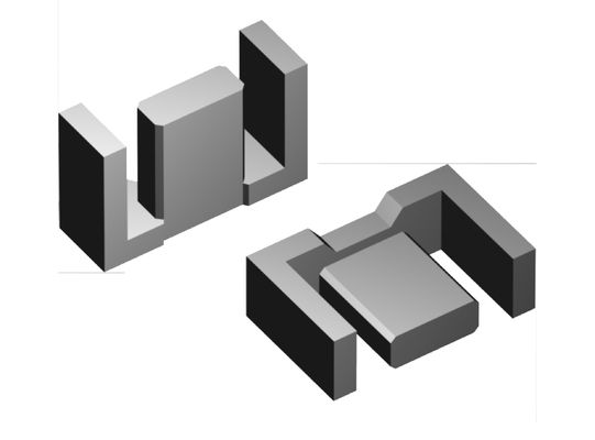 EFD Type Ferrite Core , Soft Iron Magnetic Core For Industrial Magnet