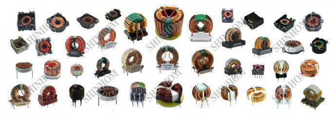 High Current Common Mode Choke Coil Flat Wire Inductance Customized