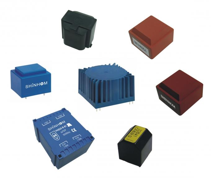 Encapsulated Power Low Frequency Transformer For Surveillance Equipment